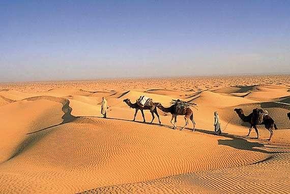 Viaggio nel deserto tunisino for Semplici paesaggi