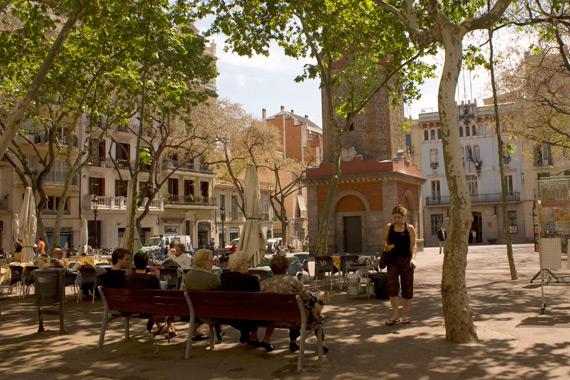 Barrio de gr cia viaggio lento quiete in catalogna for Quartiere gracia barcellona
