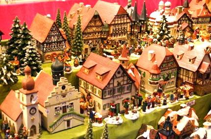 Le case dall 39 intelaiatura in legno stoccarda a natale - Navidades en alemania ...
