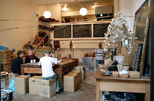 caffè bohémien - Tasty London: la cucina fatta ad arte